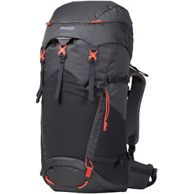 Bergans Birkebeiner 40 Backpack Kinder solid dark grey/solid charcoal/koi orange